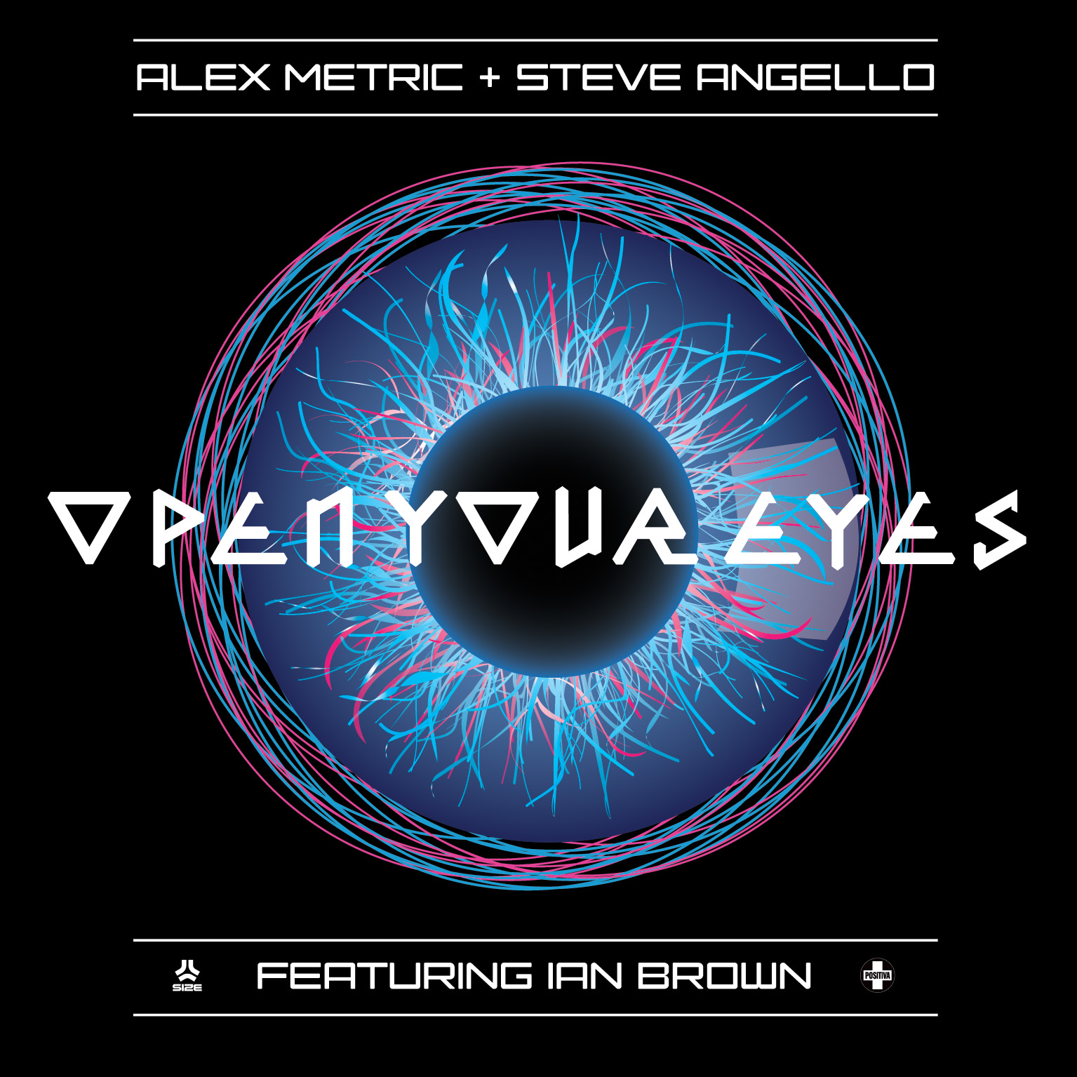Alex Metric and Ian Brown Open Your Eyes