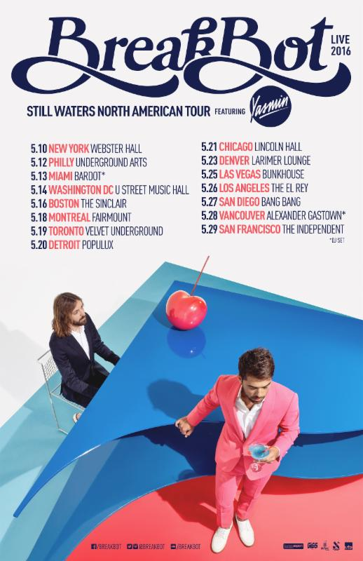 Breakbot 2016 live tour
