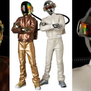 Daft Punk figurines