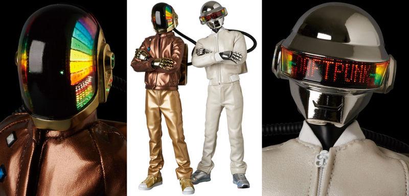 Daft Punk figurines