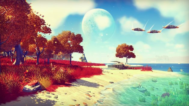 No Man's Sky Confirmed To Have No Multiplayer, Other Players Not Visible