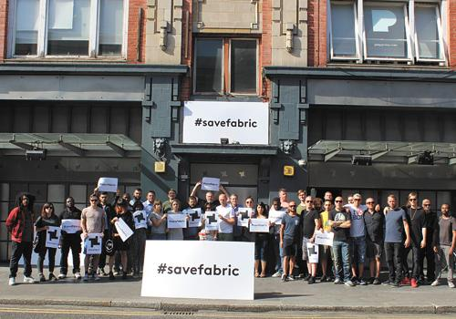 Save Fabric protest