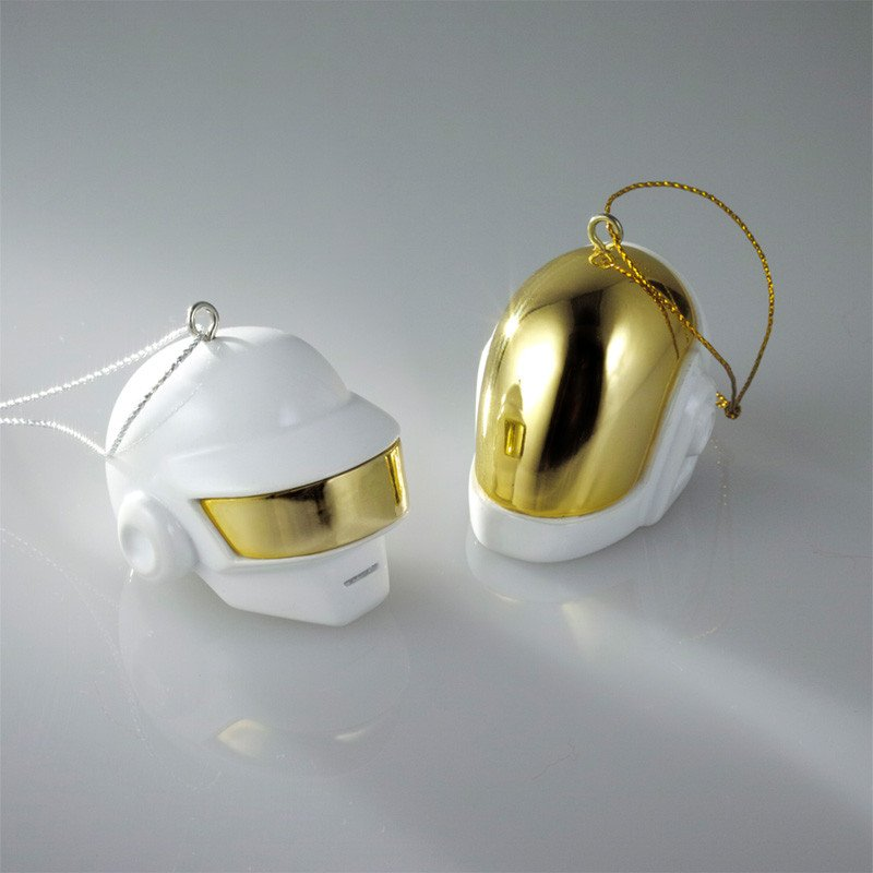 Daft Punk Christmas baubles
