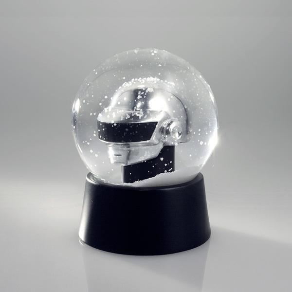 Daft Punk snow globe