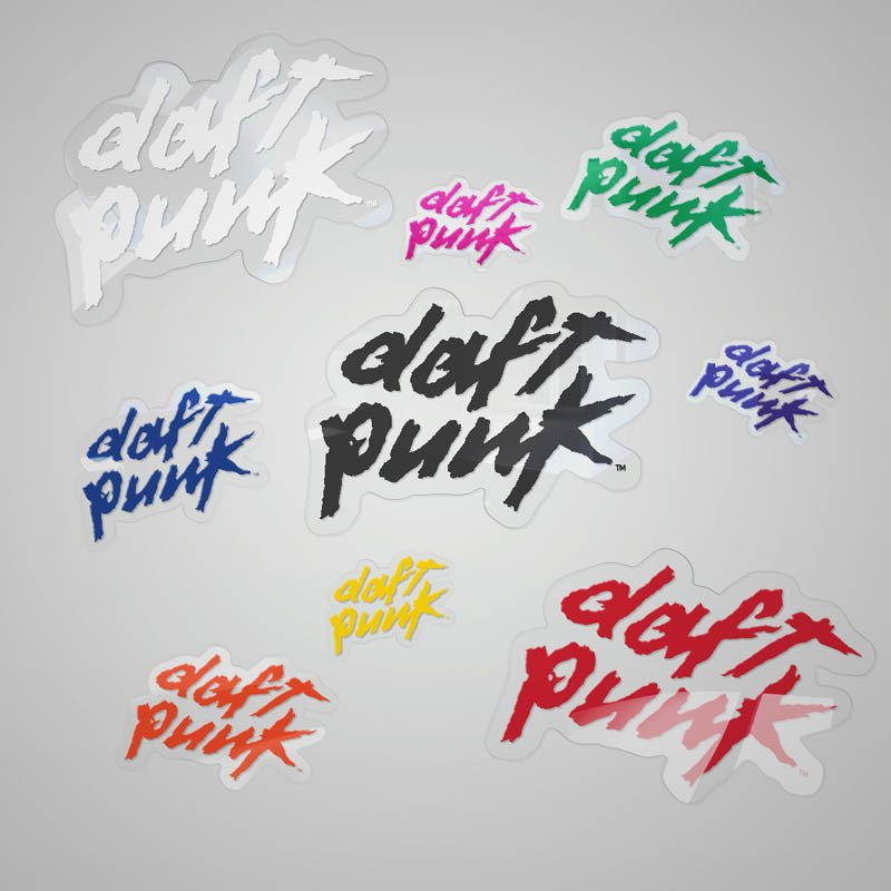 Daft Punk Sticker collection