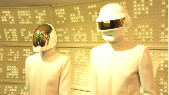 Daft Punk pop-up store