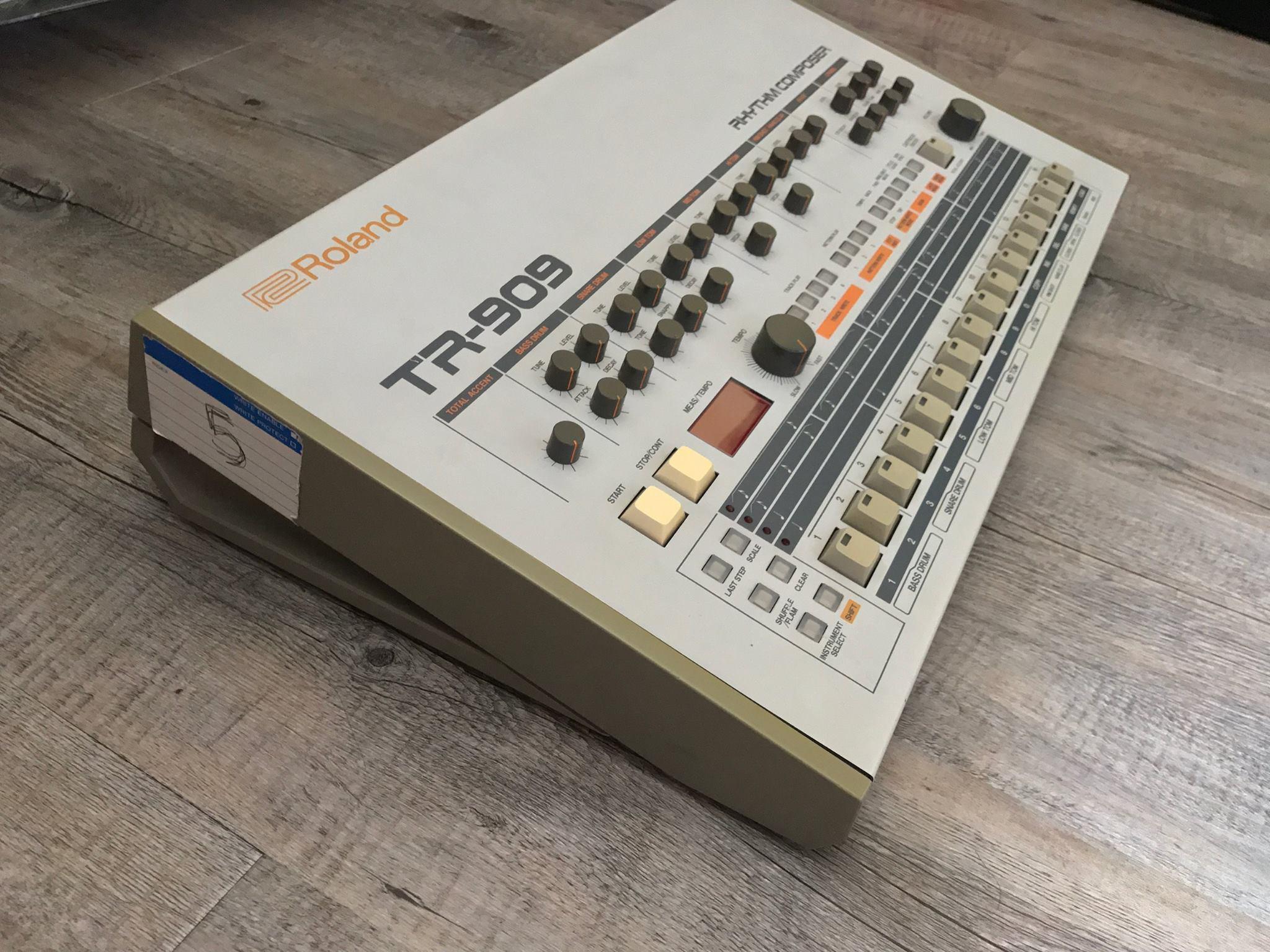 Thomas Bangalter's original TR-909 drum machine is up for sale