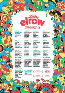 Elrow Amnesia line up 2017