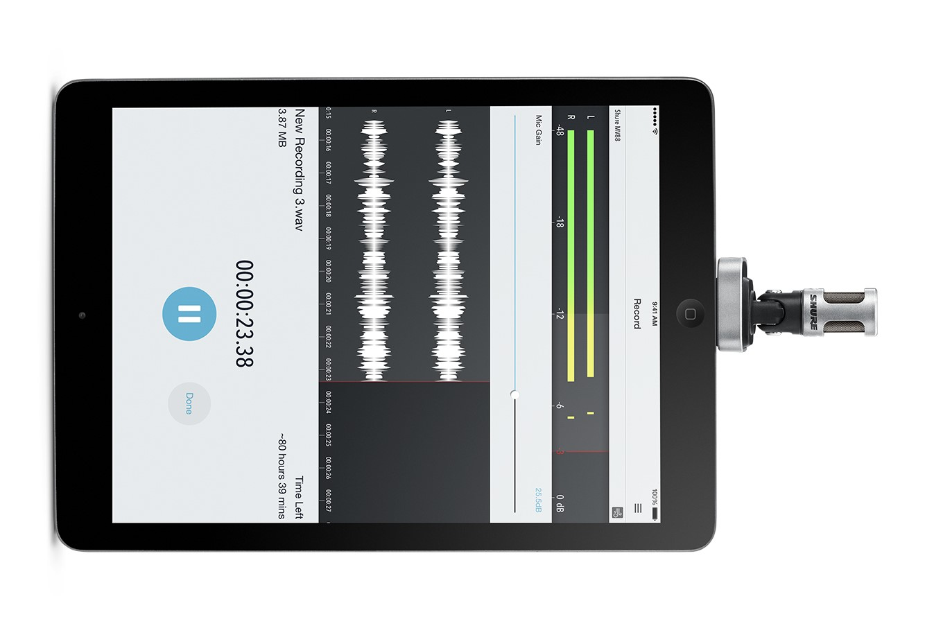Shure Motiv MV88 Review: The ultimate broadcast quality ...