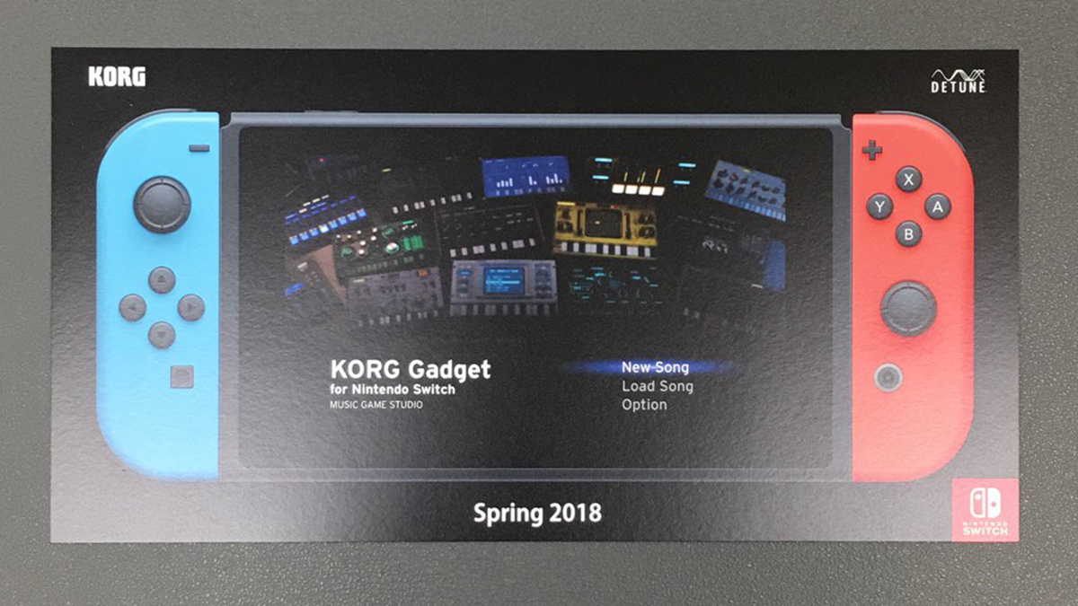 Nintendo Switch Korg