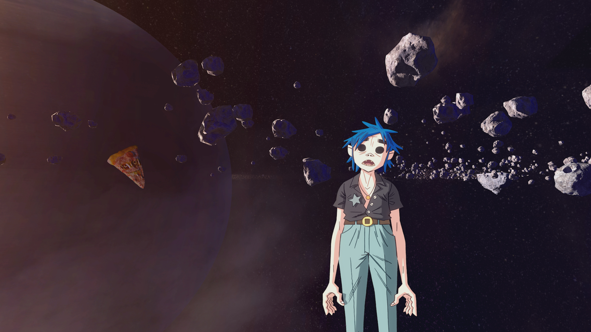 Gorillaz share animated film that features four new tracks