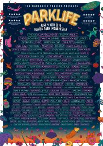 Parklife 2018 line up